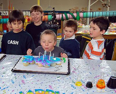 Skateboarding Birthday Parties